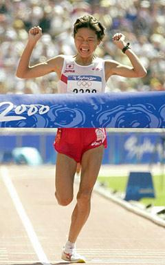 シドニーオリンピック・金メダルの高橋尚子